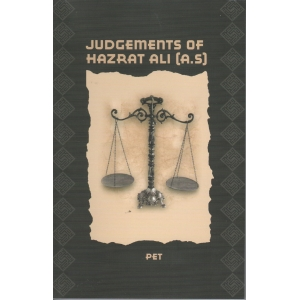 Judgements of Hazrat Ali a.s.